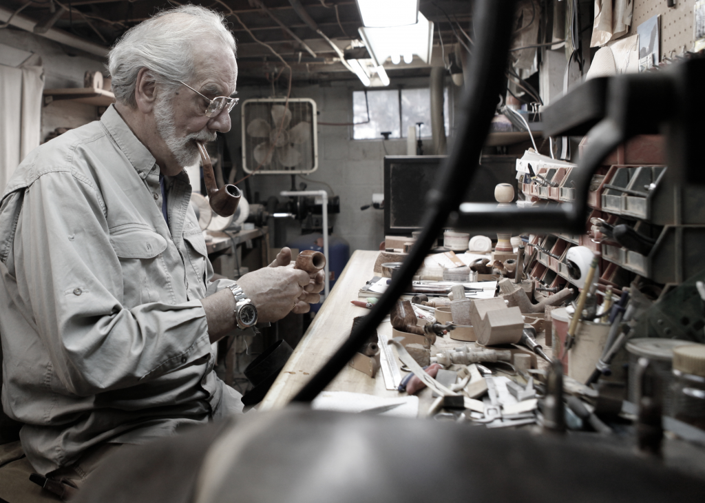 Lee hard at work in his shop. A heritage to be honored.