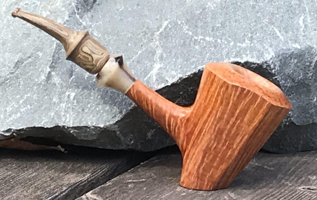 As the sawdust settles; custom smoking pipe maker Lee von Erck